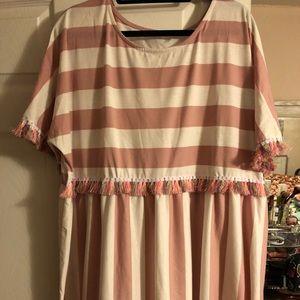 Shein striped dress/tunic, size 4xl